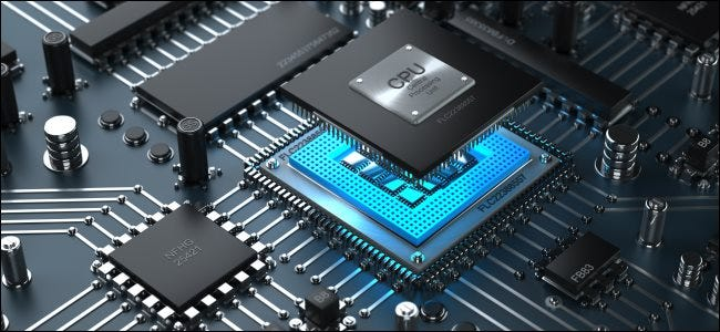 A CPU being inserted into a CPU socket on a motherboard.