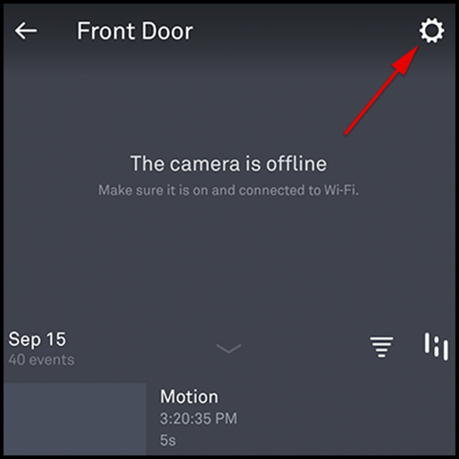 Click the gear icon in the righthand top corner