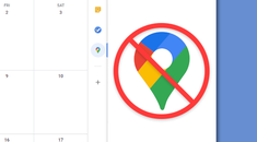 How to Stop Google Calendar From Opening Maps in the Sidebar