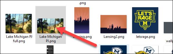select a file