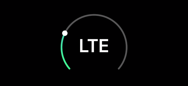 """An """"LTE"""" logo from Apple's presentation"""