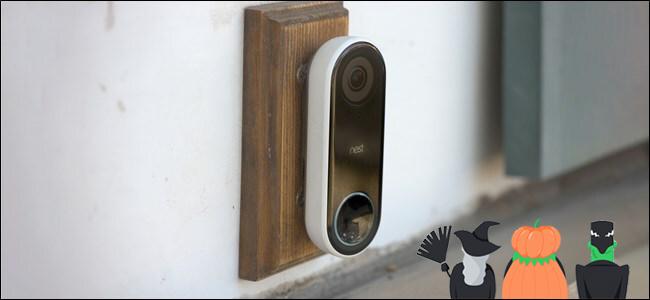 Nest Hello doorbell spooky sounds