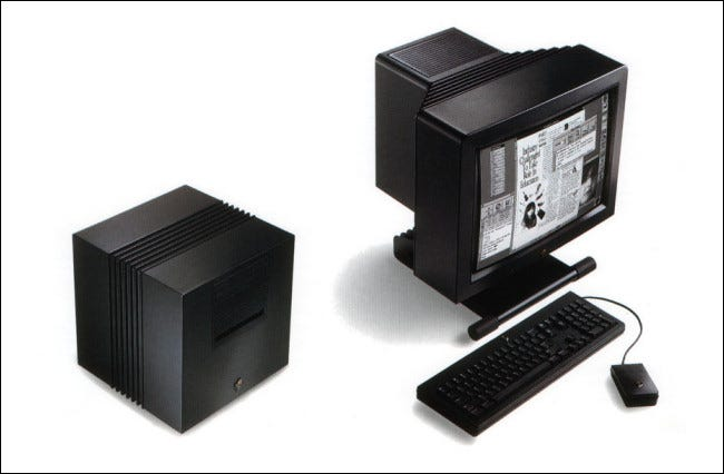 The NeXT Computer with a MegaPixel display