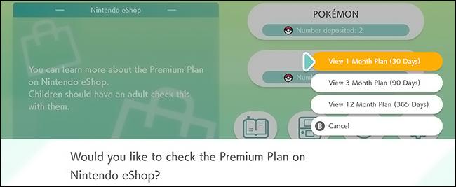nintendo eshop premium plans