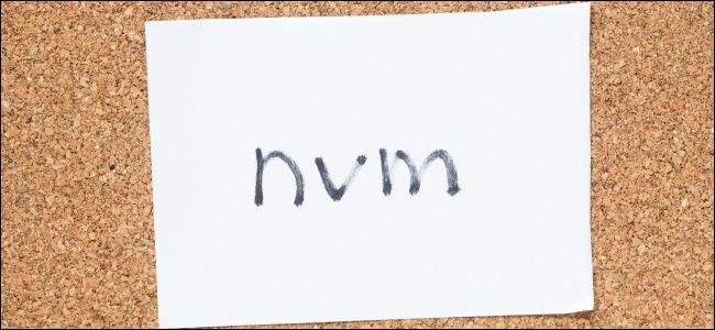 """""""nvm"""" handwritten on a piece of paper."""
