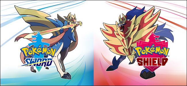 "The ""Pokémon Sword and Shield"" logo."