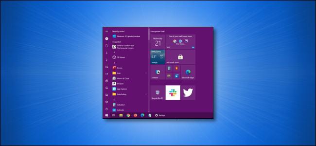 Custom Windows Start Menu Color