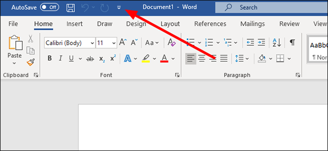 customize quick access toolbar excel
