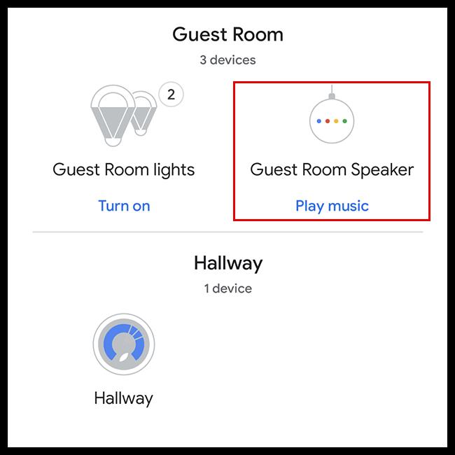 Select a speaker.