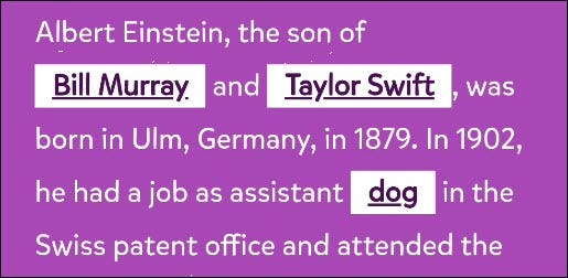 """An excerpt from """"Mad Libs"""" on Google Assistant."""