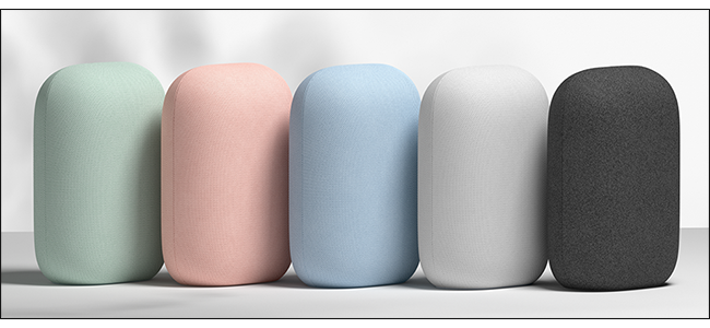 Nest Audio in different colors