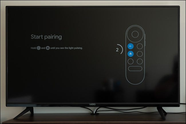 Pair your remote with Chromecast with Google TV