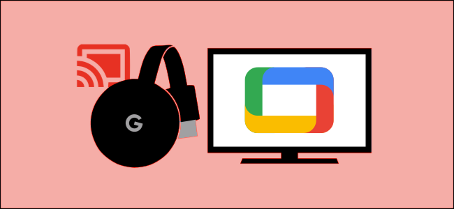 The Google TV with Chromecast graphics.