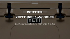 Win a Yeti Tundra 45 Cooler in Our Latest Giveaway