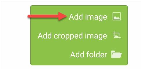 "Tap ""Add Image."""
