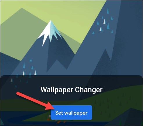 "Tap ""Set Wallpaper."""