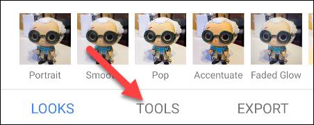 select the tools tab