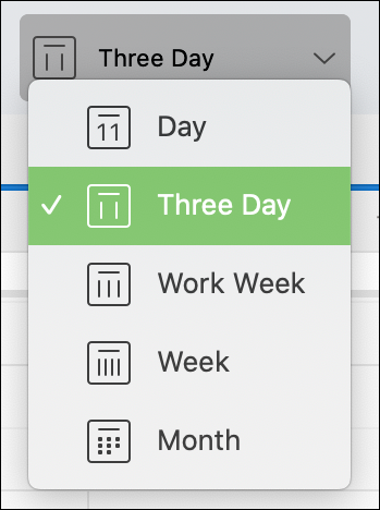 Pick Three Day in the Outlook Calendar