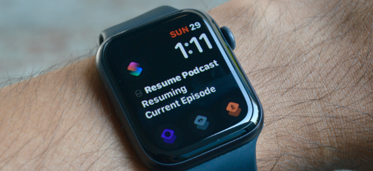 How to Launch Shortcuts from an Apple Watch Face