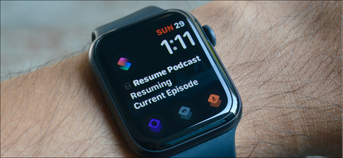 Apple Watch Face With Shortcuts Complications
