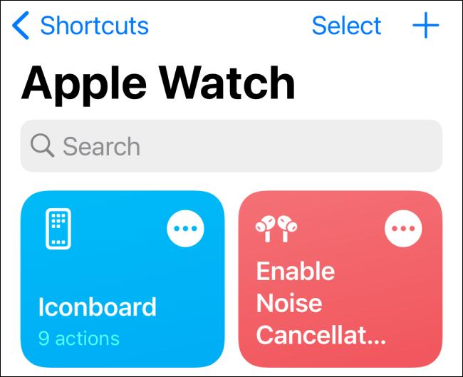 Apple Watch Shortcuts