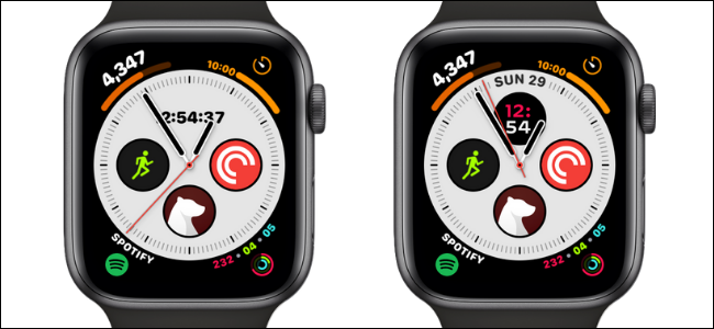 Date and Time Complications on Apple Watch