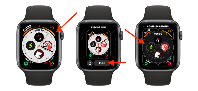 Edit Watch Face and Complication on Apple Watch
