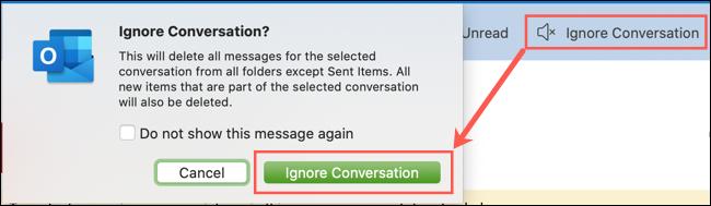 Click Ignore Call