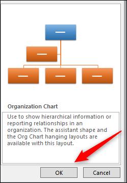 Insert button for chart