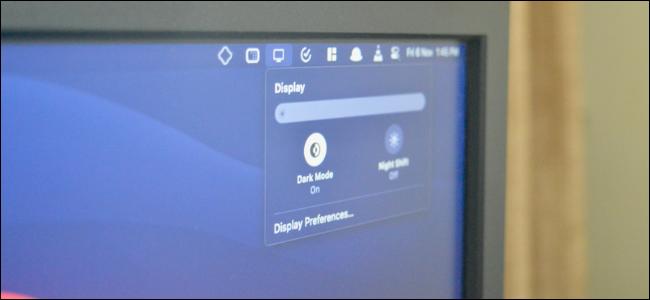 Mac User Enabling Dark Mode