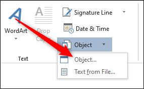 Object option