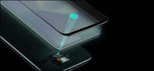 The Oneplus 7 Optical Fingerprint Scanner.