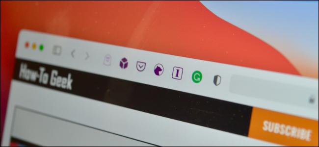 Safari User on Mac Using Extensions