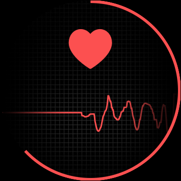 отслеживание сердечного ритма в процессе