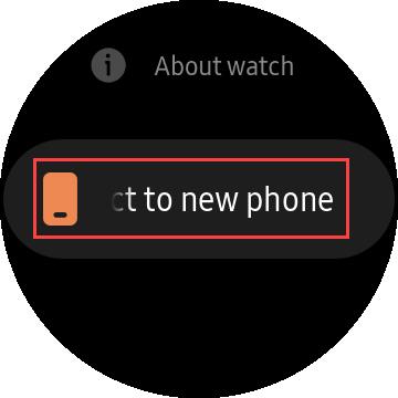 yeni bir telefona bağlan