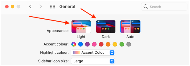 Switch to Light or Dark mode