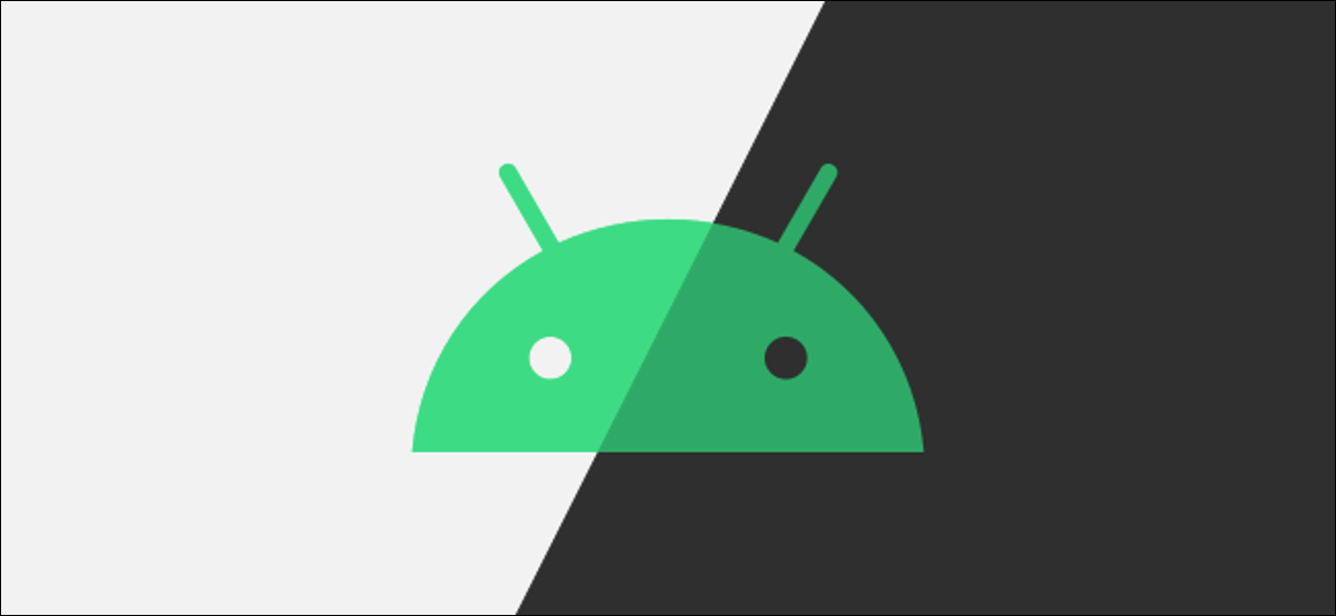 android logo dark mode