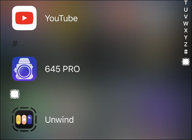App Clip in App Library