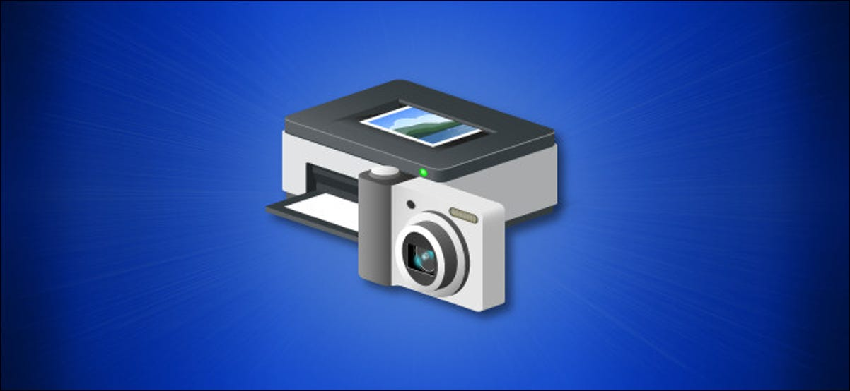 Windows 10 Devices and Printers Icon