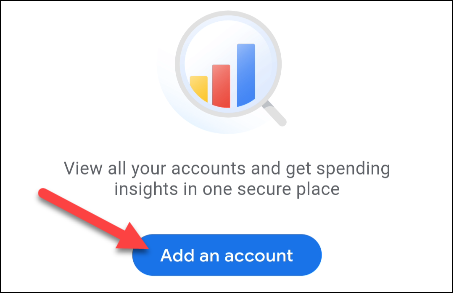 tap add an account