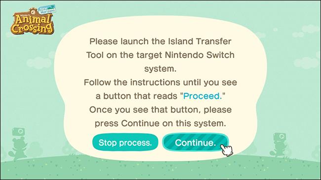 island transfer tool target transfer