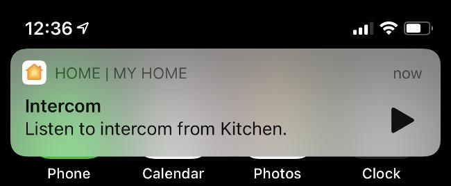 Listen to Intercom on iPhone