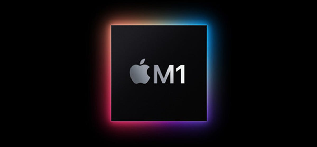 The Apple M1 logo.