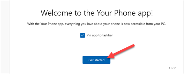 get started with your phone