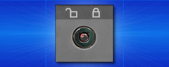 Why Did '90s PCs Have Keyhole Locks, and What Did They Do?