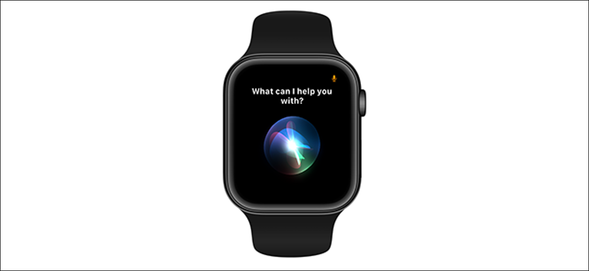 preview image showing Siri activating on an apple watch