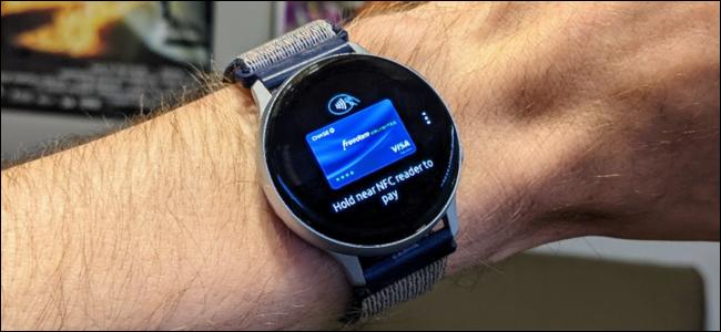 samsung pay on Galaxy watch