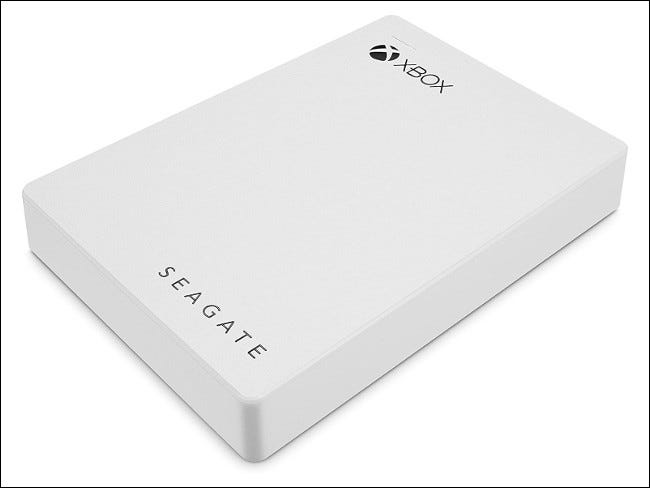 Seagate Xbox-Branded External Hard Drive