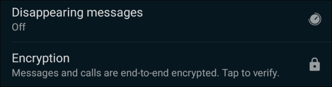 WhatsApp'ta kaybolan mesajlar seçeneği