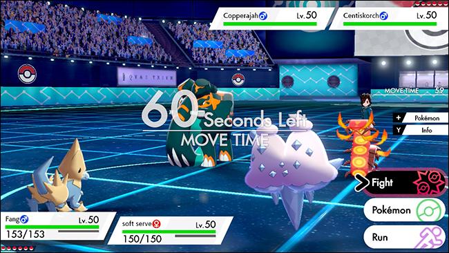 sword and shield pokemon double battle